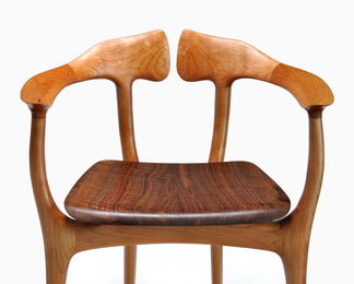 Swallowtail Chair - Walnut and Cherry