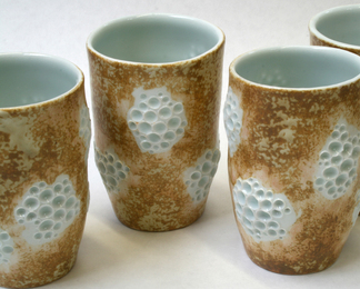 Exclusive - Lichen Porcelain Cup Set