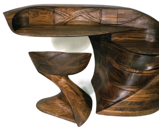 El Morro Desk and Matador II Chair