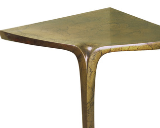 Corner Table in Cast Bronze