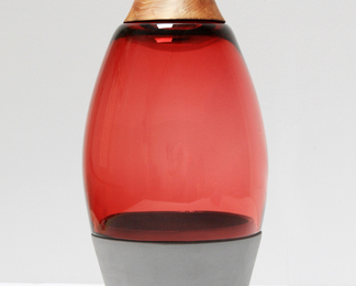 Transformed Stacking Vessel - Red
