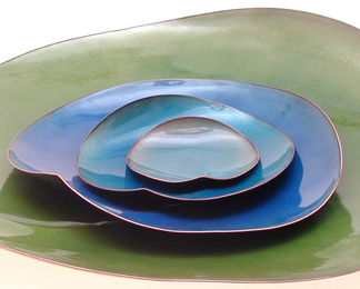 Lily Pad 4 Piece Plate Set