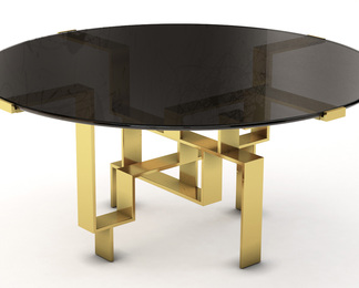 Metropolis Dining Table - Round