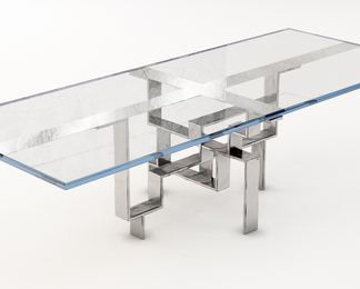Metropolis Dining Table - Rectangle Single