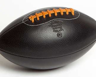 LEATHER HEAD Football - Black