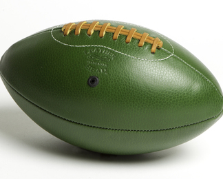 LEATHER HEAD Football - Green