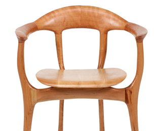 Swallowtail Solid Back Chair