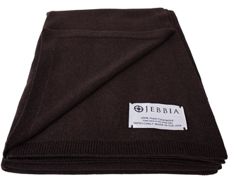 Cashmere Throw - Espresso