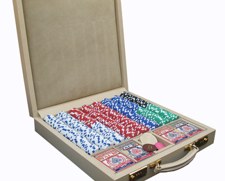 Poker Chip Case - Magnolia