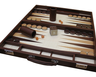 Tournament Size Contemporary Backgammon