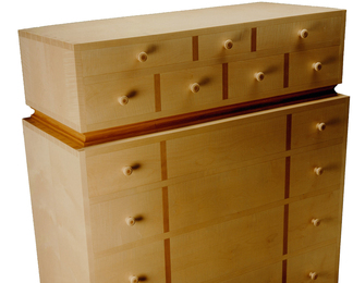 Chest Of Drawers - Sycamore