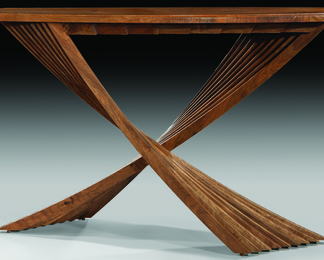 Acer Table in Walnut - Bespoke Guild Mark 436