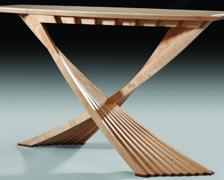 Acer Table in Sycamore - Guild Mark 436