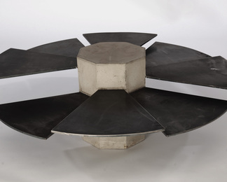 Steel Fan Table