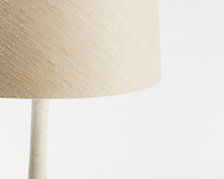 Cone Lamp in Shagreen and Bone
