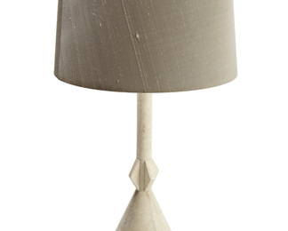 Frank Lamp in Shagreen and Bone