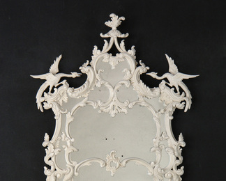 Chinese Chippendale George III Mirror