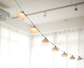 Pleated String Lights - Set of 10