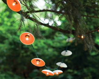 Disc String Lights - Set of 10