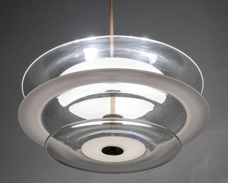 Nested Disc Chandelier
