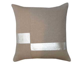 26x26 Glass Pillow - Block