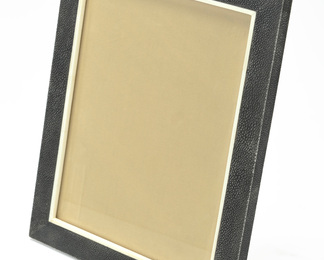 Photo Frame in Shagreen and Bone