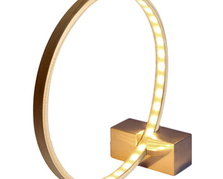 Hoop + Stick Lamp