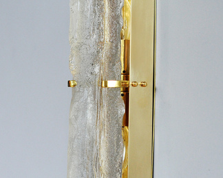 Glass Totem Sconce