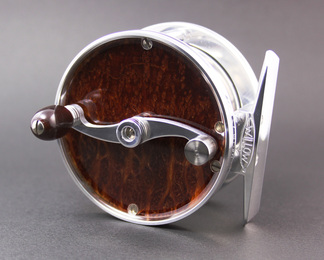 Wood Faced Reel- Redwood Burl
