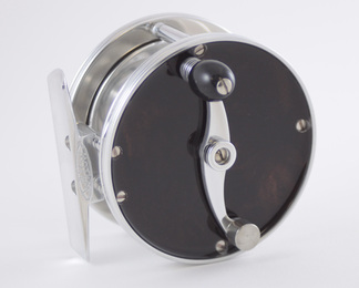 Wood Faced Reel - Ebony
