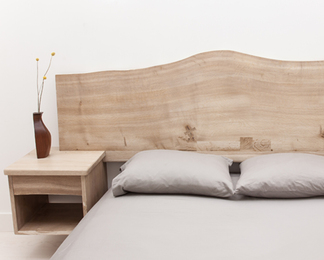 Floating Headboard with Sidetables KING