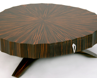 Coffee Table - Macassar Ebony