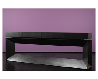 Long Black Console Table