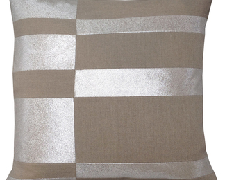 26x26 Glass Pillow - Rows
