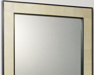 Forty Two Section Mirror - Shagreen