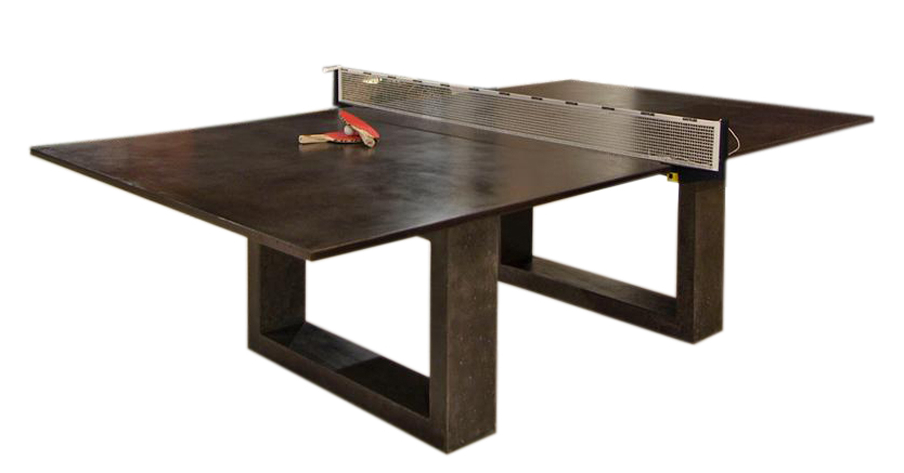 Bespoke global product detail black ping pong dining table for Table ping pong