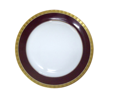 19888_plate_lotos_27cm_ibis_brown_gold_main